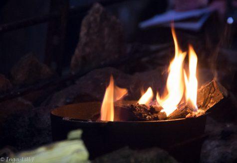 Det brinner